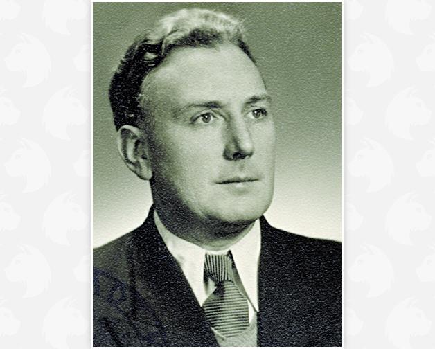1933: Reinhold Ferdinand Wallburger wird Meister