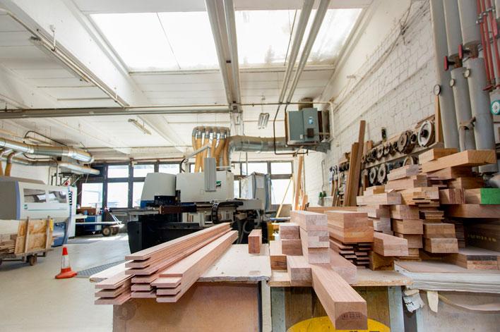 Wallburger Holzfenster aus hauseigener Fertigung