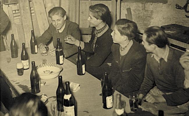 1952: Betriebsfest