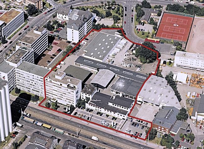 2003: Großes Betriebsgelände